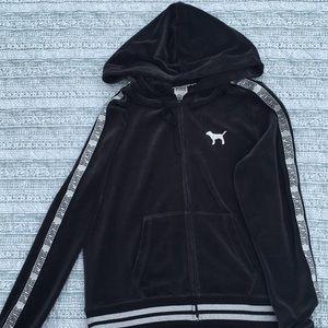 Victoria secret hooded sweatshirt
